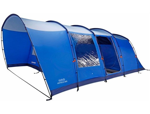Vango Anteus 600 6 berth tent - just bought this ready for our family c&ing adventures this summer  sc 1 st  Pinterest & A bright stylish and functional tunnel tent with a huge internal ...