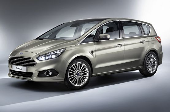 Euro Spec Ford S Max People Mover Unveiled Ahead Of Paris Debut