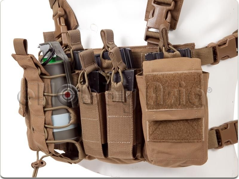 Haley Strategic D3 Chest Rig Coyote Brown Chest Rig Military Gear Tac Gear