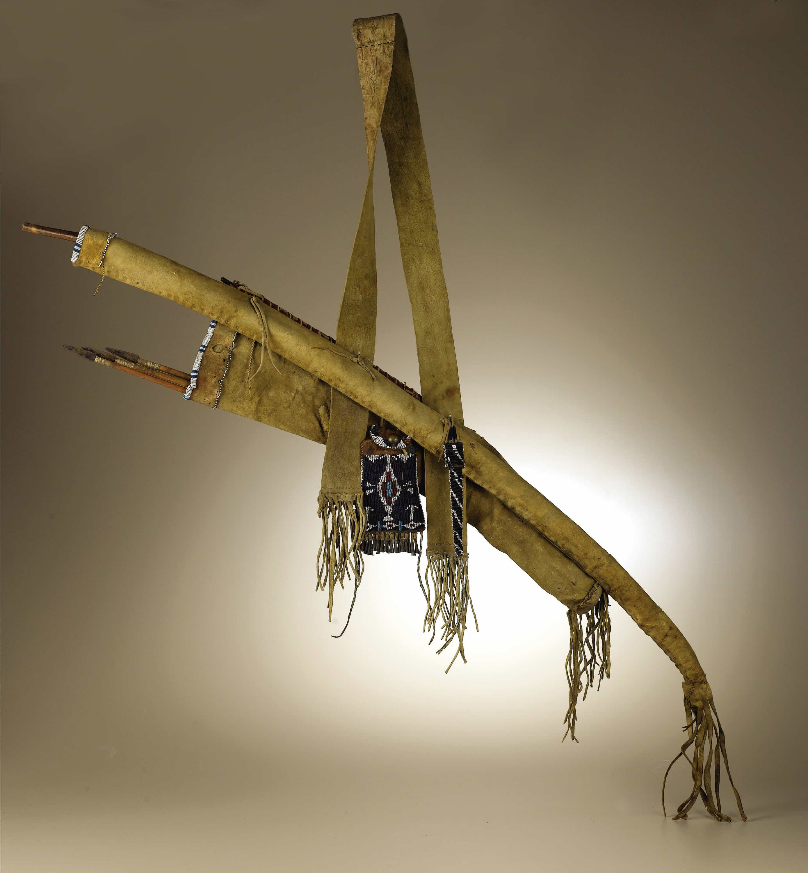 Kiowa bowcase and quiver