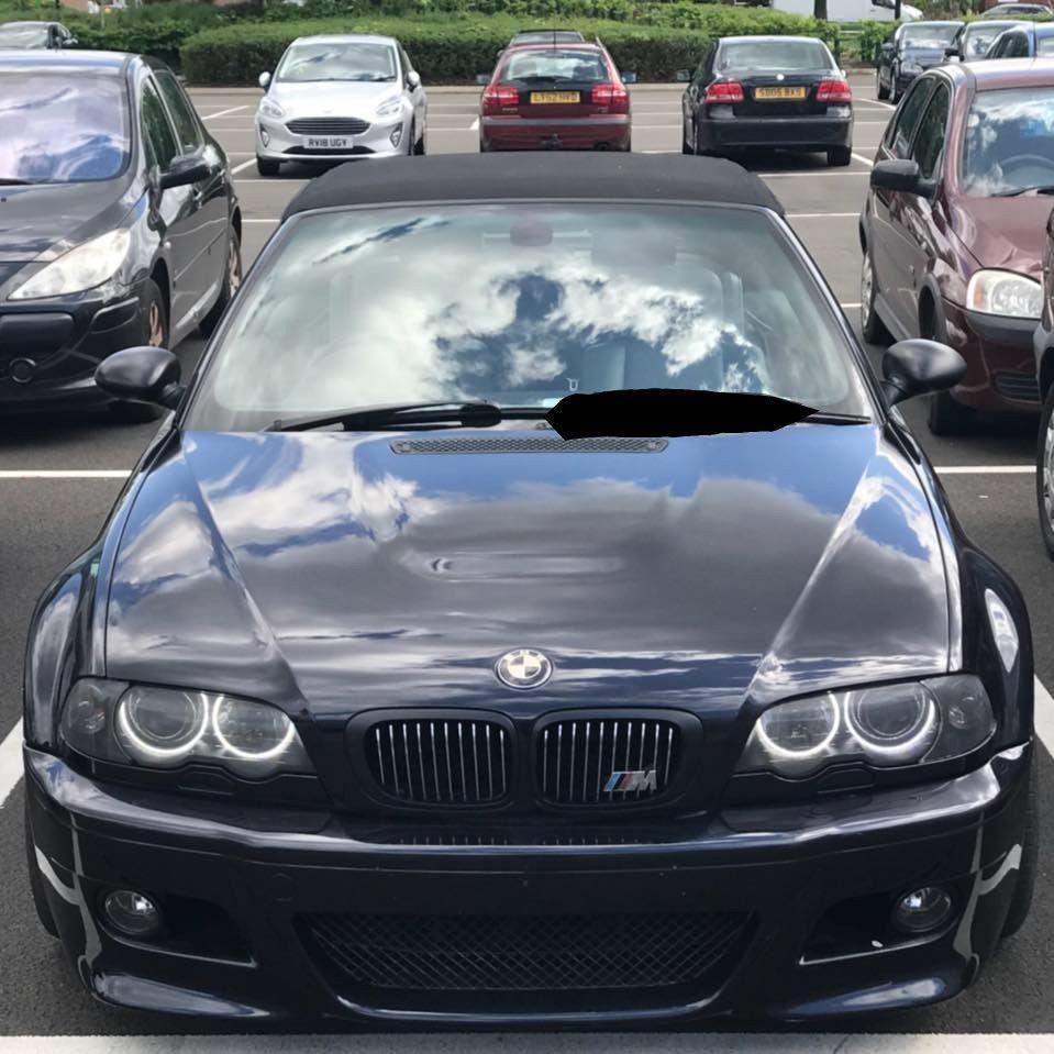 Ebay Bmw E46 M3 Smg Convertible 70k Miles Carbon Black Cat N Very