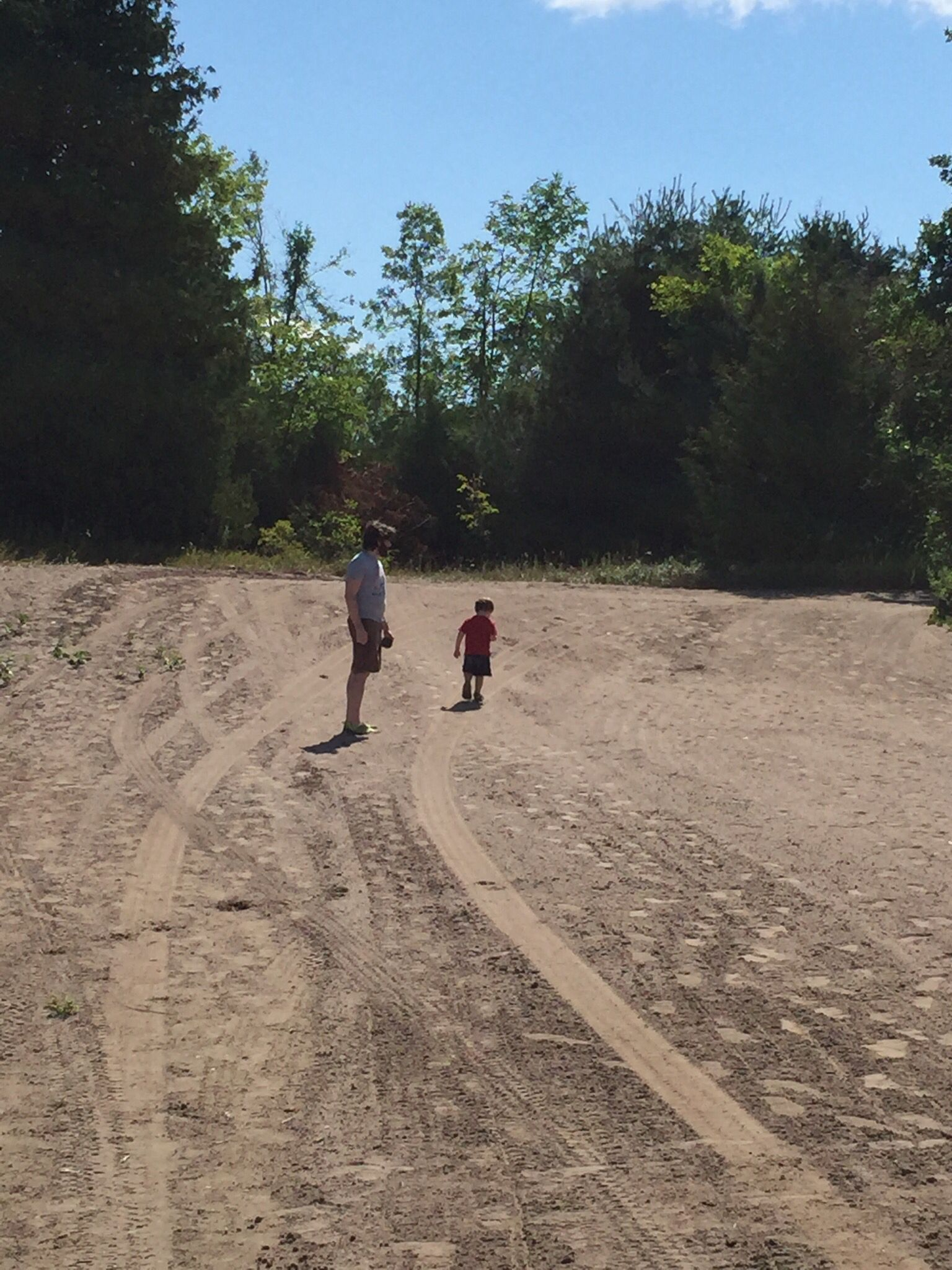 Daddy and baby adventures