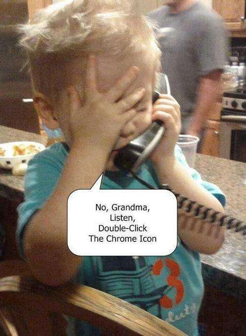 Nana does this aaalll the time!