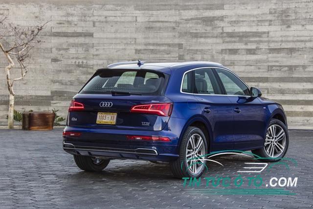 Audi Q5 2018 Sẽ Có Nhiều Phiên Bản Bao Gồm Cả động Cơ Xăng