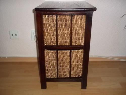 beistelltisch mit ratanschubladen in berlin tempelhof couchtisch gebraucht kaufen ebay. Black Bedroom Furniture Sets. Home Design Ideas