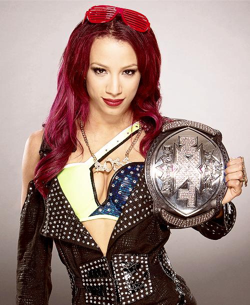 Tyra Banks Wwe: Sasha Banks NXT Women's Champion