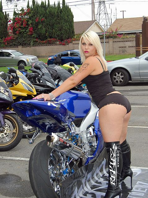 Sexy Girl And Motorcycle Singlebikerdatecom Is A Best Dating Site For -4472