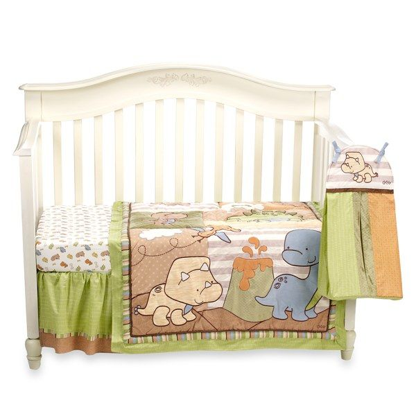 Cocalo dino mite crib bedding set and accessories buybuy baby boy or girl theyre gonna have a kick ass dino room