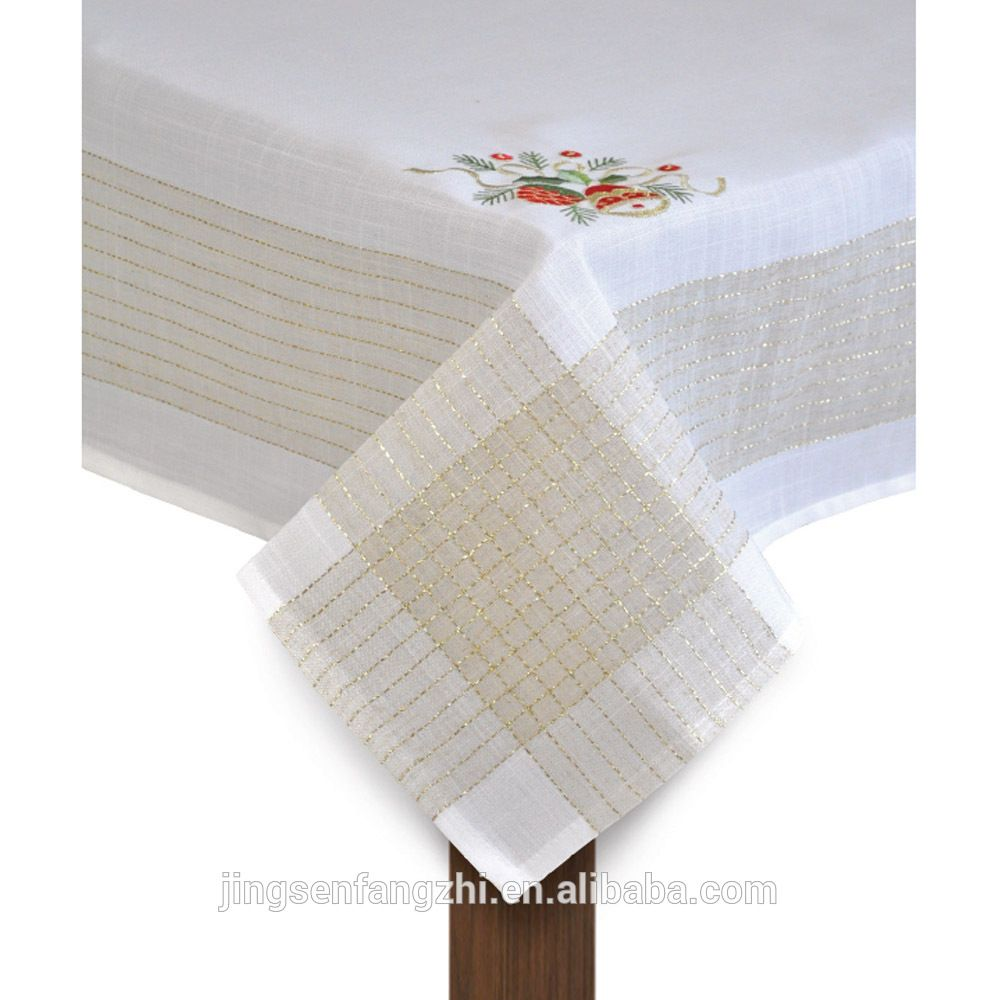 embroidery christmas tablecloth find complete details about embroidery christmas tableclothsquare christmas tablecloths
