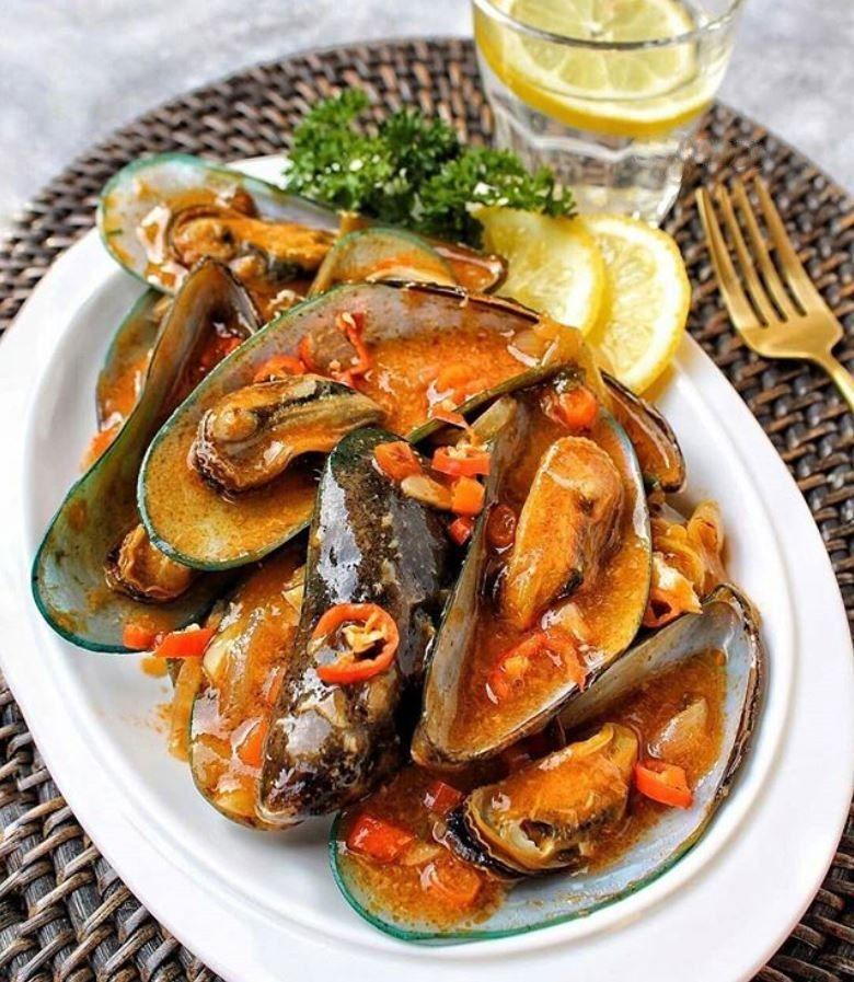 Resep Kerang Hijau Sambal Bangkok Sajian Sedap Penggugah Selera Iniresep Com Resep Resep Kerang Resep Resep Seafood