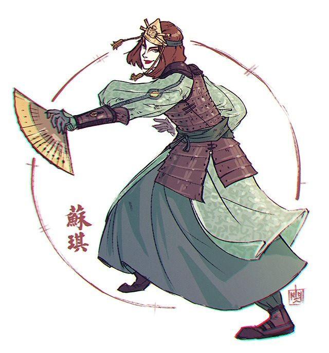 The Last Airbender Avatar Kyoshi: Avatar - Last Airbender - Suki