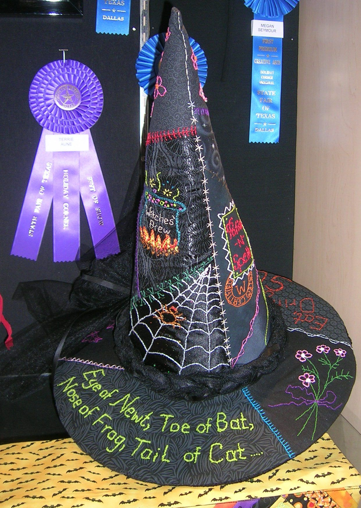 Witch hat-Terrie Aune, 2012