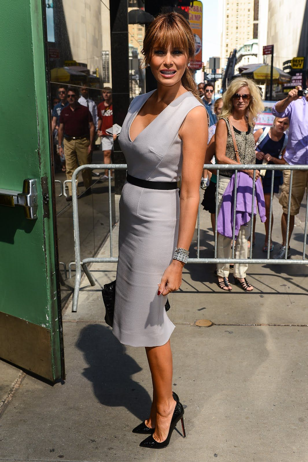 a2894be7680 Christian Louboutin Pigalle 120mm tribute — Melania Trump in Louboutins!  Exquisite!