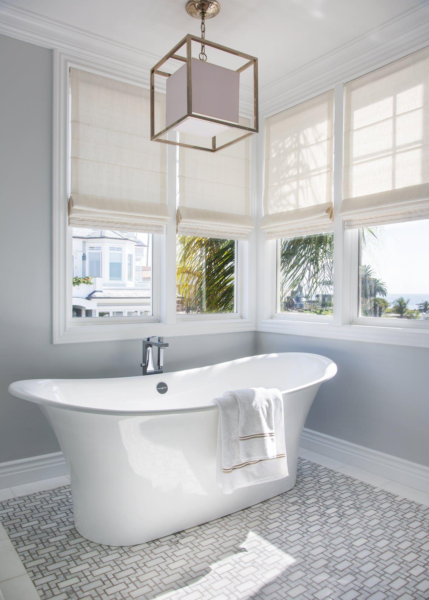Coastal Master bath Bath Design Detail American