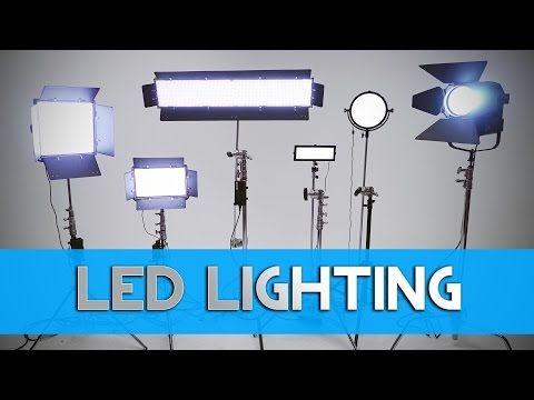 Dvtv Led Lighting For Filmmaking Video Production Led Lights Filmmaking Ideas Filmmaking