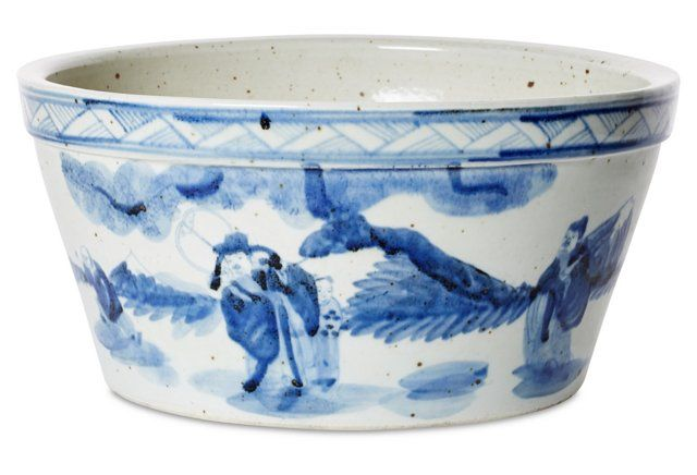 15 Traditional Chinoiserie Cachepot Chinoiserie Traditional Decor Blue And White