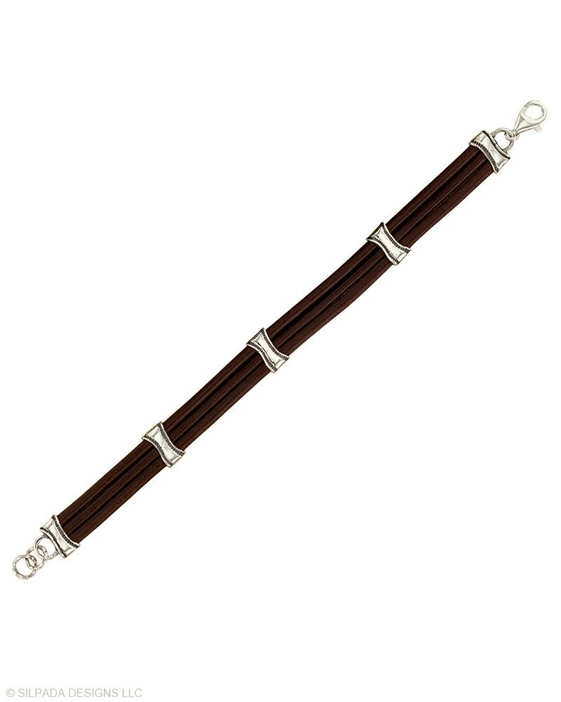Mens up for the challenge bracelet strong and sleek for a dapper