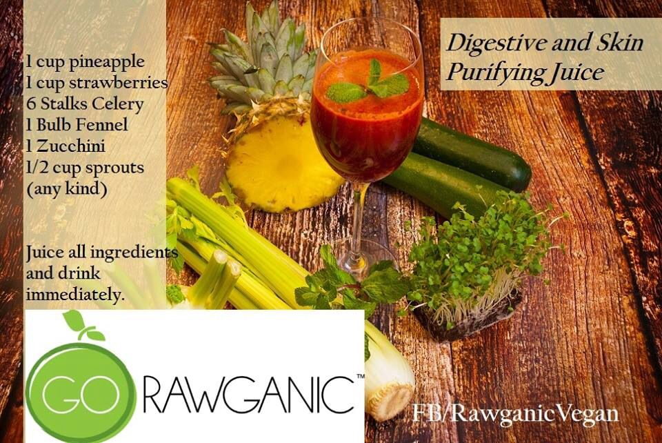 Digestive and Skin purifying juice