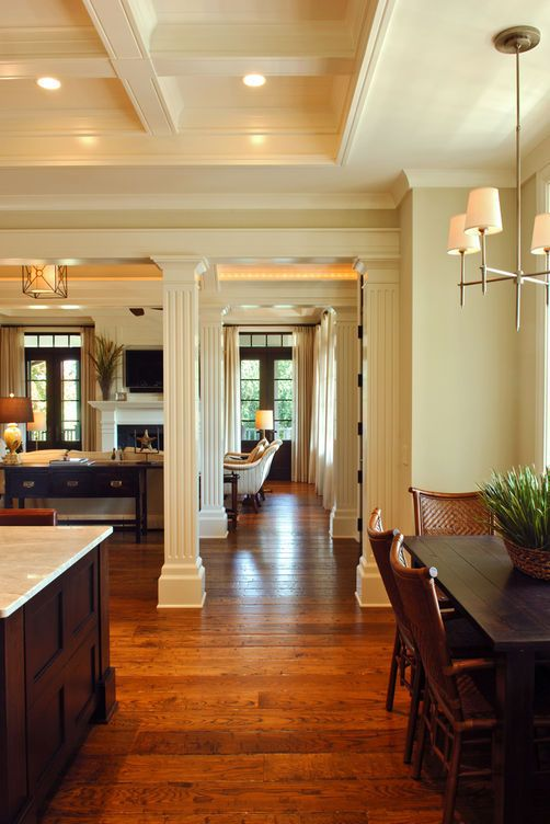 living room, open floor plan, great house. Ralston Creek Home by Herlong & Associates