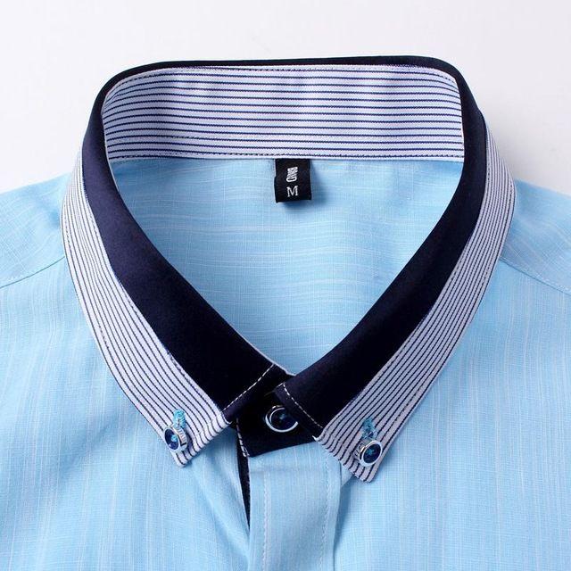 Hombres De La Marca Famosa Camisetas 2015 A Rayas De Manga Corta Para Hombre Slim Fit Algodon Lino Camisa Masculina Camisas Masculinas Camisas Camisas Hombre