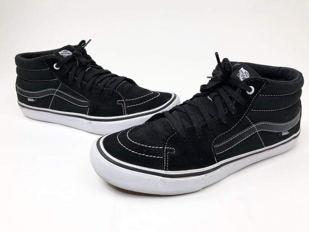 46038160a450 Vans Mens Sk8 Mid Pro Skateboard Shoes Black White Size 13 US Great  Condition  fashion  clothing  shoes  accessories  mensshoes  athleticshoes  (ebay link)