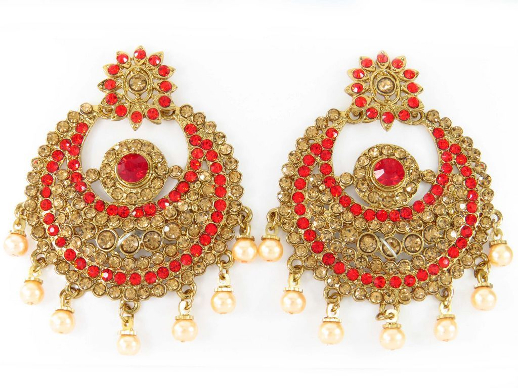 Traditional Chand bali earrings from Wholesale Online Jewelry Supplier and Manufacturer.