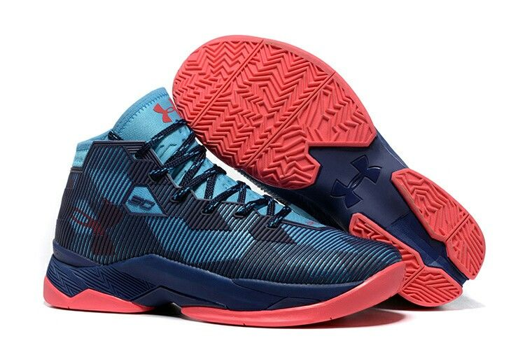 Legitmate Curry 25 Navy Blue Red TopDeals
