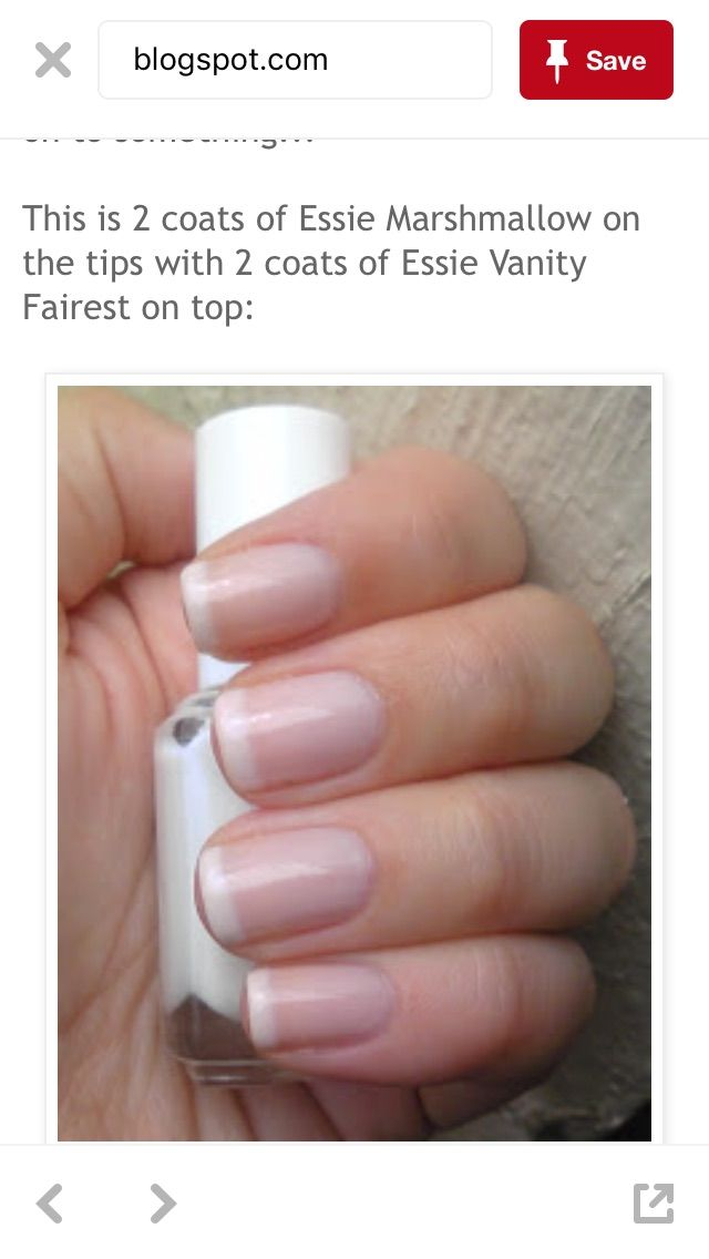 Soft French/American Manicure | My Style | Pinterest | American ...