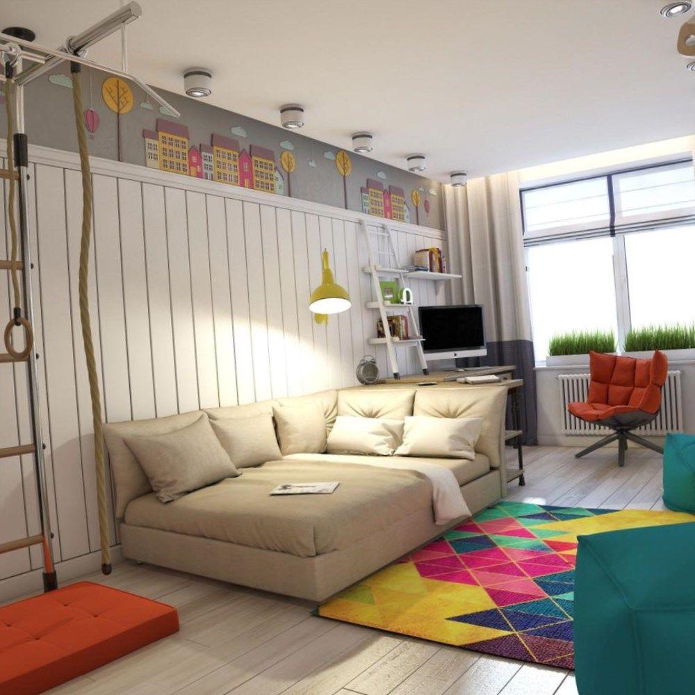 Комната для юноши дизайн фото