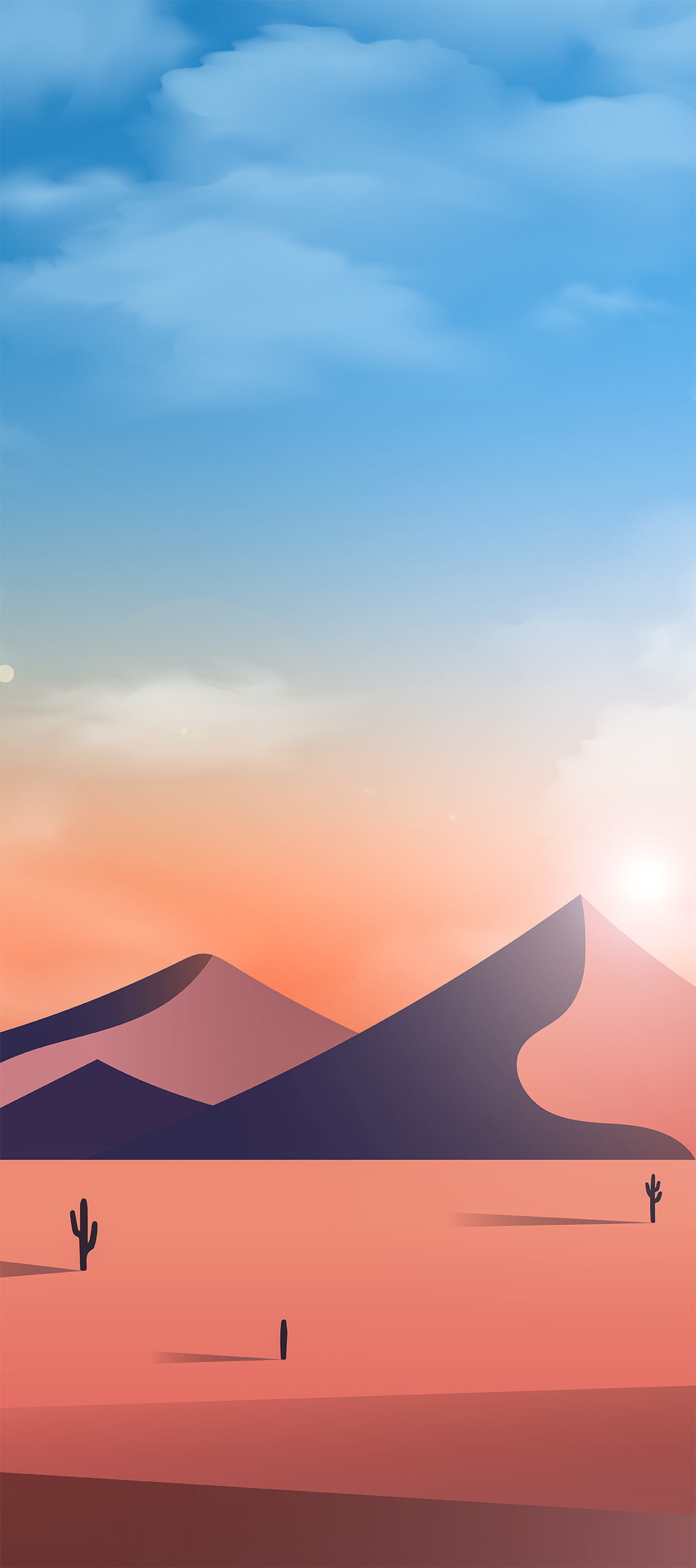 Sunset Desert by @EvgeniyZemelko