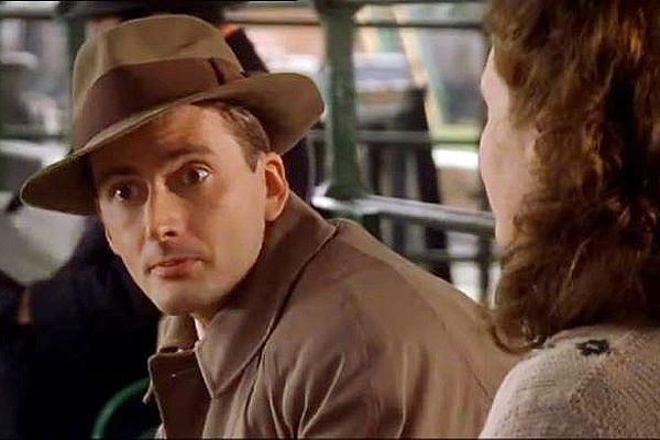 "Love the fedora! David Tennant in an episode of ""Foyle's War"""