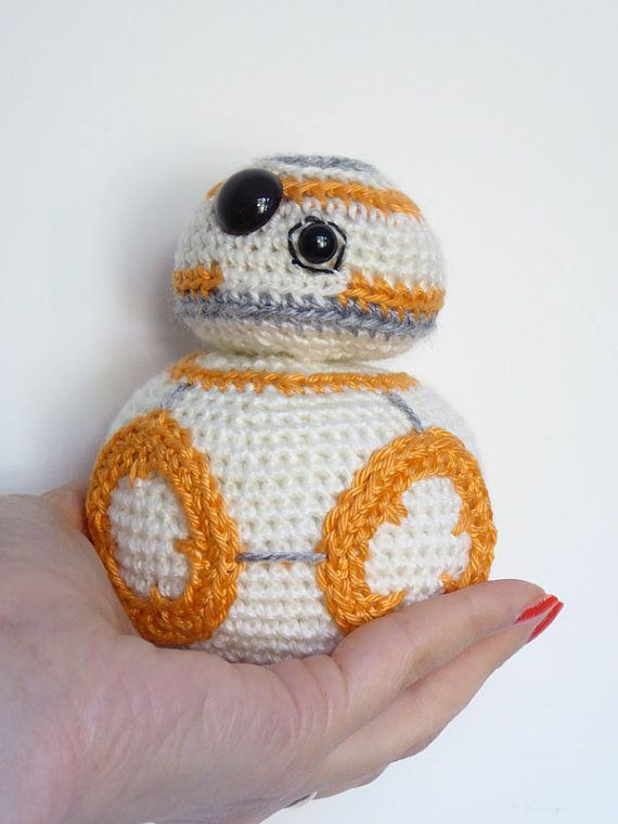 Star Wars Bb 8 Crochet Pattern Bb8 Amigurumi Von Mysteriouscats