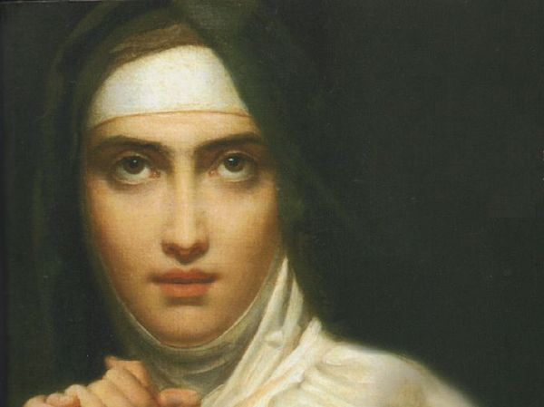 Image result for St Teresa of Avila (1515-1582) as a Young Woman (detail) by François Gerard (1827)