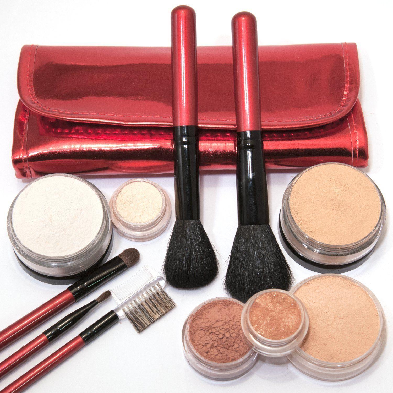 IQ Natural Large Mineral Makeup Kit 12pc (MEDIUM shade