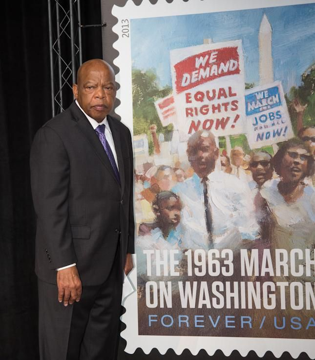 U S Postal Service Launches New 1963 March On Washington Forever Stamp At Newseum Ceremony Photos Forever Stamps Ceremony Newseum