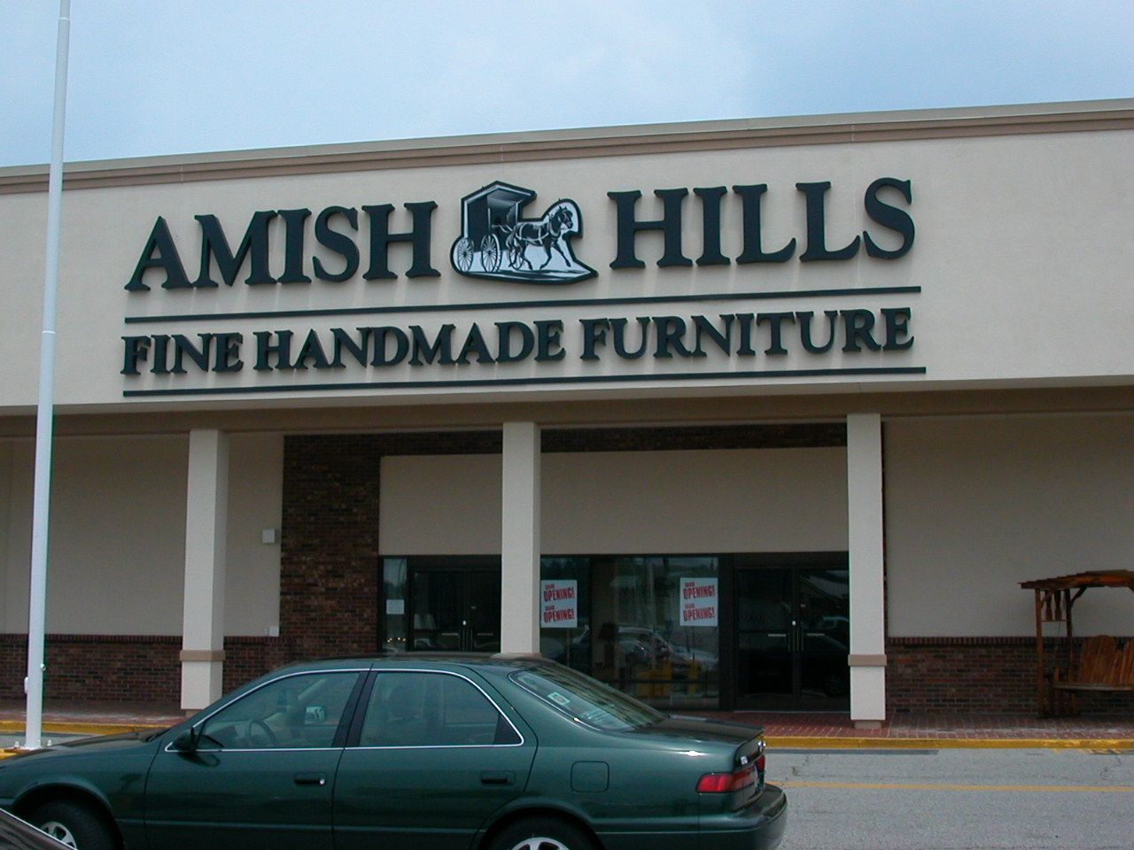 Amish Hills Fine Handmade Furniture Channel Letters Located In Louisville Ky