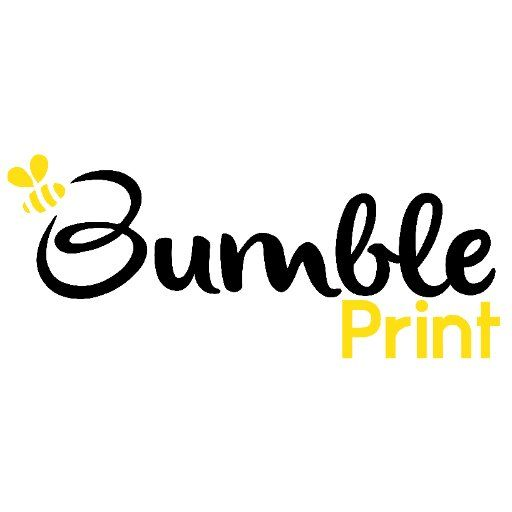 Bumble Print Logo Design