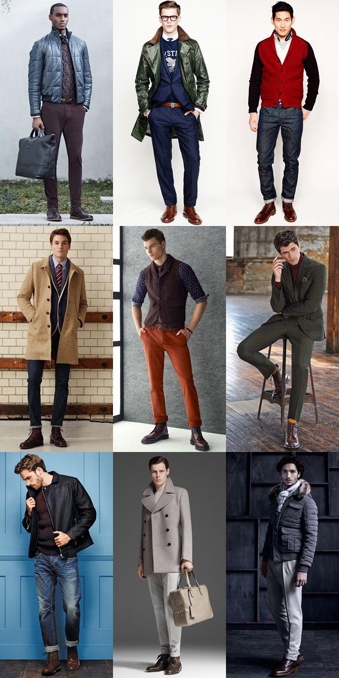 Men s Brogue Boot Outfit Inspiration Lookbook  793e66e33