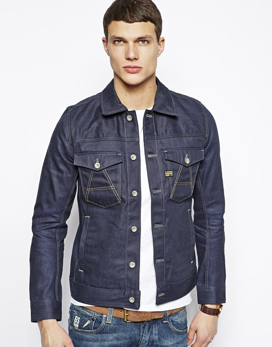cb0d3c3cc825 Pin by Lookastic on Denim Jackets