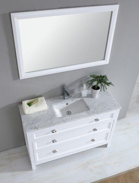 single white bathroom vanities. Torun 1200 Single White Traditional Bathroom Vanity With Carrara Marble Stone Top Vanities Y