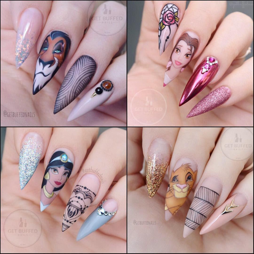 Diseños de uñas (con imágenes) | Manicura de uñas, Uñas de ...