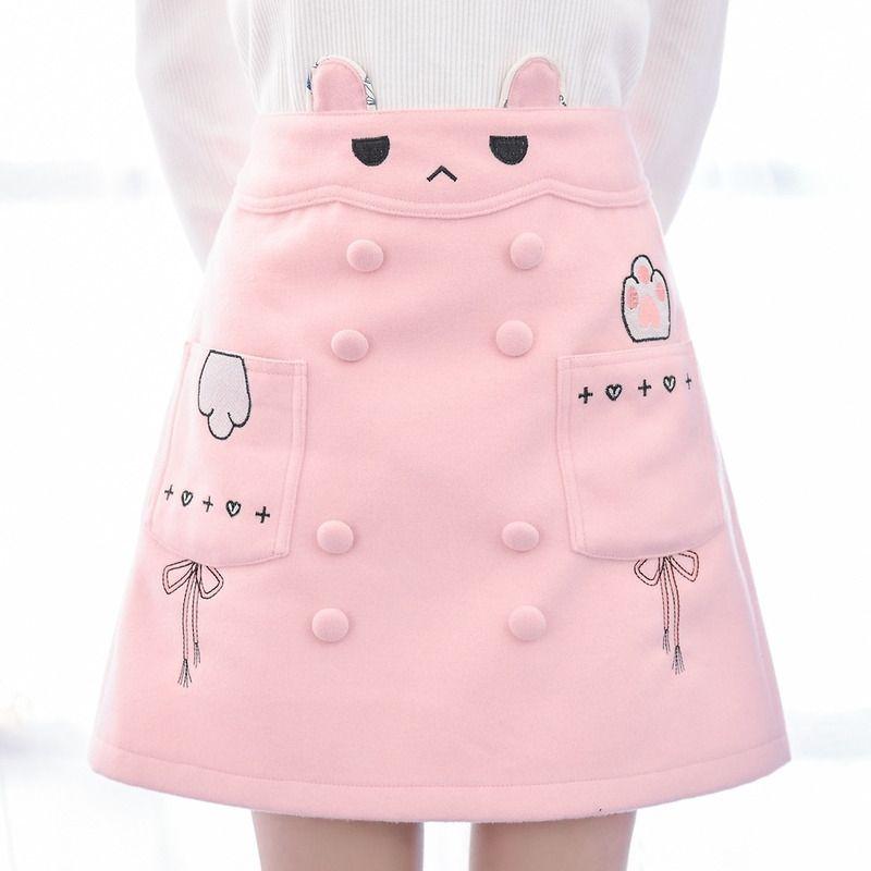 Pink cute bunny skirt   Fashionnnn   Pinterest   Ropa kawaii, Kawaii ...