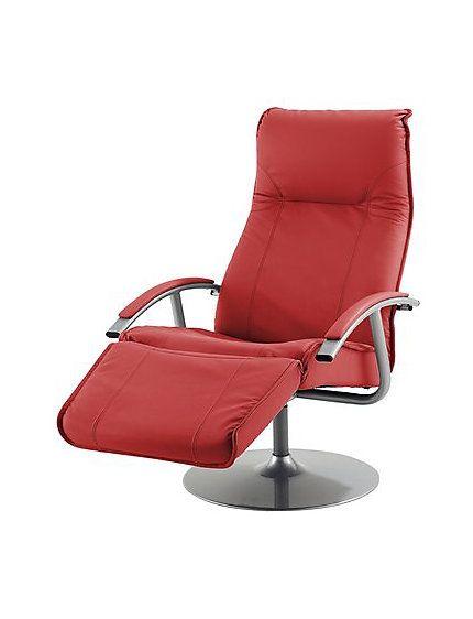 Rode Leren Relaxstoel.Leren Relaxfauteuil 999 95 Heine Fauteuils House By Style
