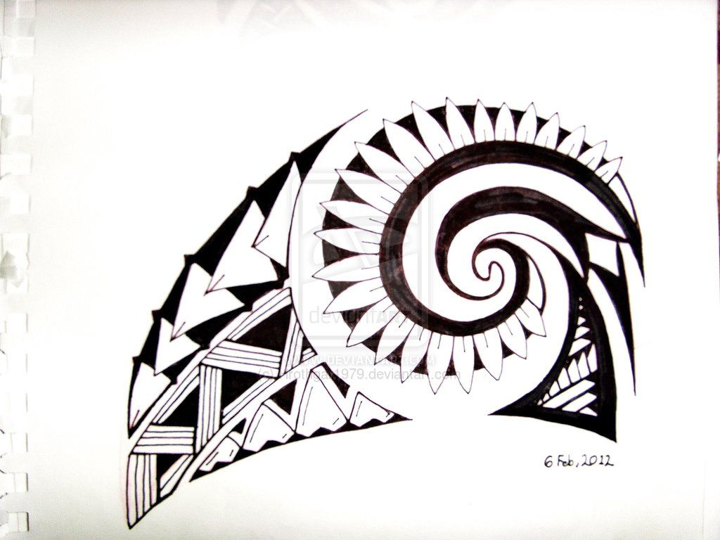 tribal designs for on hip images
