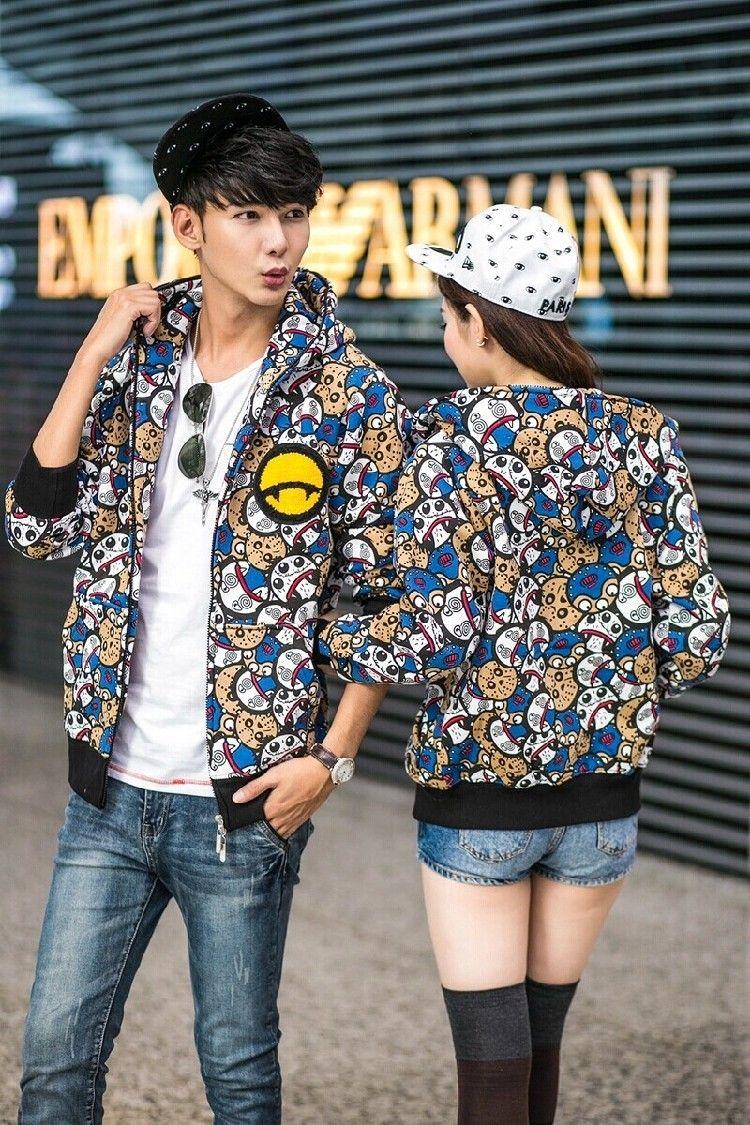 Doodle Graffiti Sweatshirt Jacket Men Teens Fashion Hiphop Jacket Varsity Hoodie Jacket Hooded Slim Zipper Cotton Jacket-in Hoodies & Sweatshirts from Men's Clothing & Accessories on Aliexpress.com | Alibaba Group