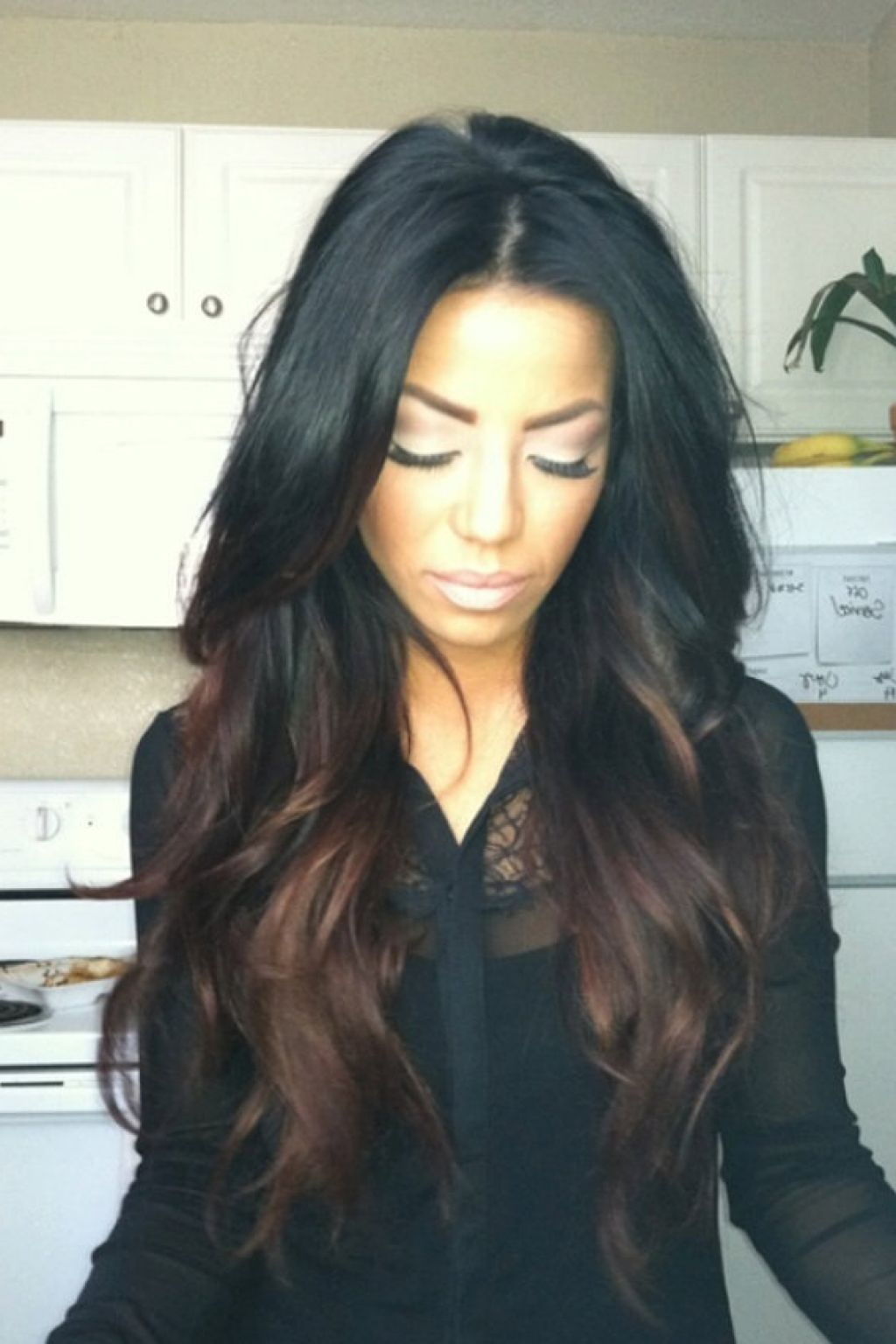 Black women with highlighted hair - When My Hair Grows Out Just A Little More I Will Get It Pressed And Have It Dyed Exactly Like This Blackgirlmagic Pinterest Hair Coloring