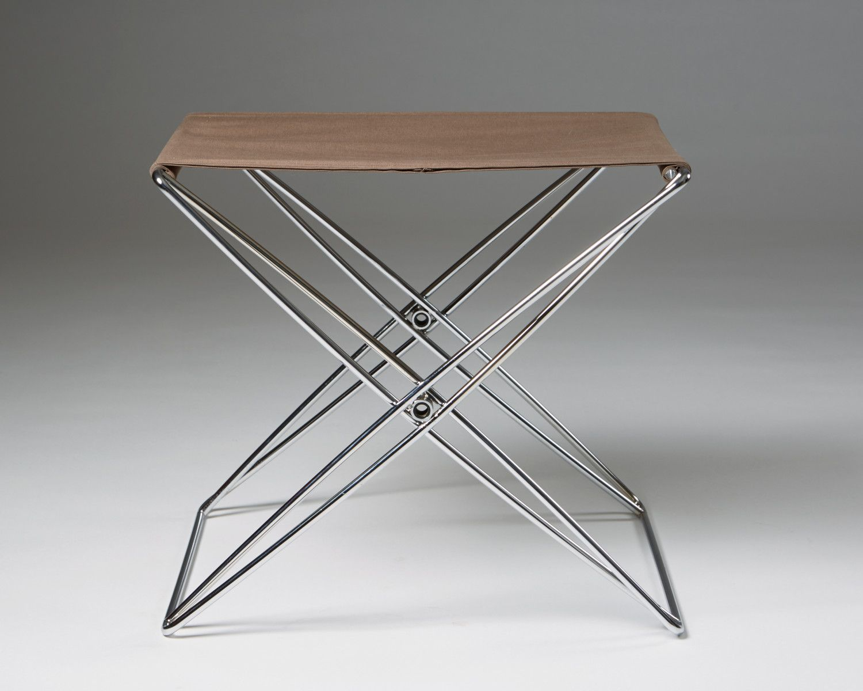 Remarkable Folding Stool Designed By Jorgen Gammelgaard For Forum Creativecarmelina Interior Chair Design Creativecarmelinacom