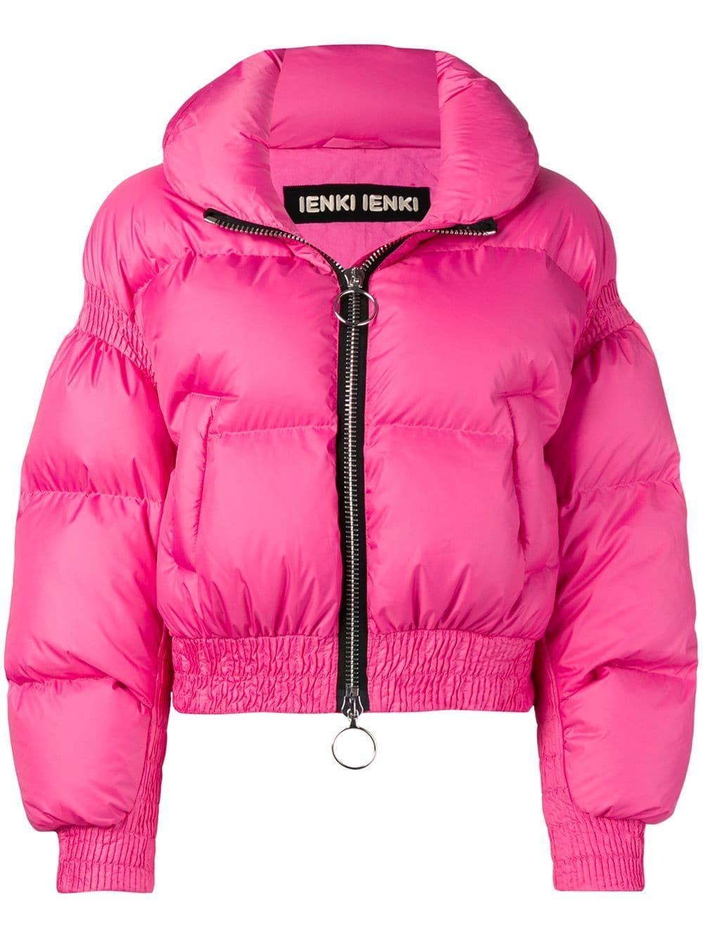 Ienki Ienki Ienki Ienki Cropped Puffer Jacket Pink Ienkiienki Cloth [ 1334 x 1000 Pixel ]
