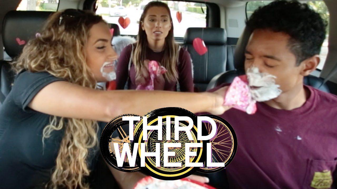 Whipped Cream Kissing Challenge Third Wheel W Lauren Elizabeth