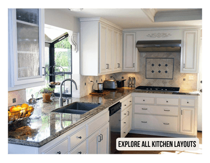 Explore all the different kitchen layout styles on our website ...